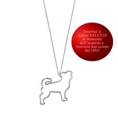 collana cane con coupon